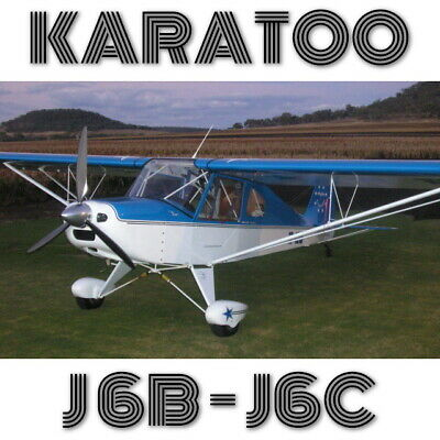 Karatoo J6 - Plans And Information Set For Homebuild Stol Cheap 2 Seat Aircraft