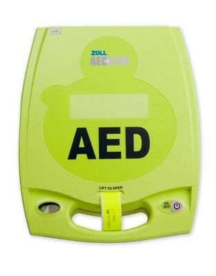 ZOLL AED Plus- Biomed Recertified, Warranty, New Pads and Batteries