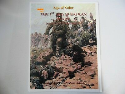 Age Of Valor The 1St And 2Nd Balkan Wars - Wargames Rules - New