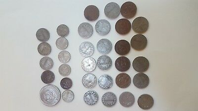 Columbia Large Coin Lot 1933 - 1959