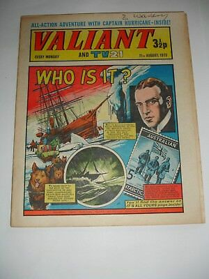 VALIANT And TV 21 comic 11th August 1973