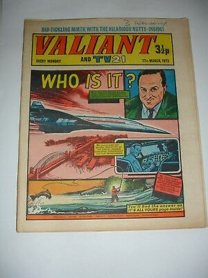 VALIANT And TV 21 comic 17th March 1973