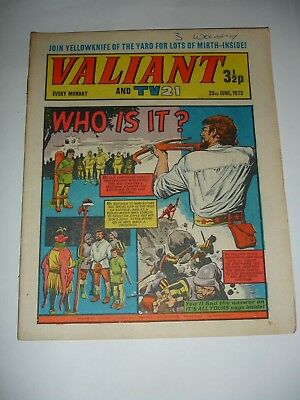 VALIANT And TV 21 comic 23rd June 1973