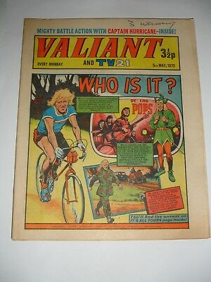 VALIANT And TV 21 comic 5th May 1973