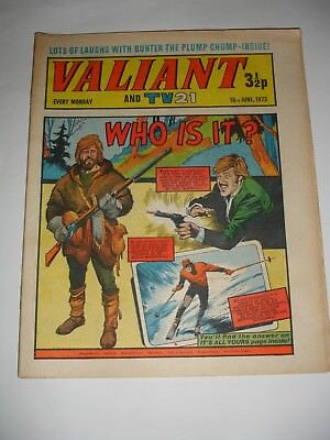 VALIANT And TV 21 comic 16th June 1973
