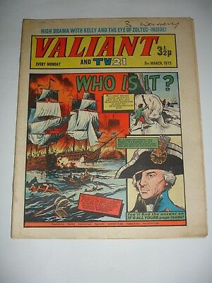 VALIANT And TV 21 comic 3rd March 1973