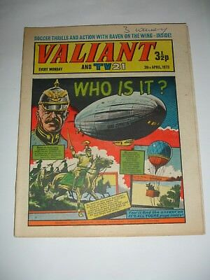 VALIANT And TV 21 comic 28th April 1973