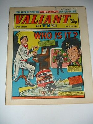 VALIANT And TV 21 comic 14th April 1973