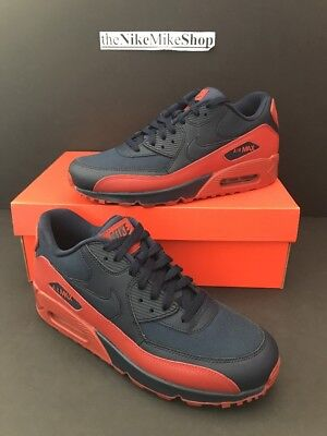 finest selection 3485a ec5db Nike Air Max 90 Essential Mens 537384-425 Obsidian Mars Stone Shoes Size 9