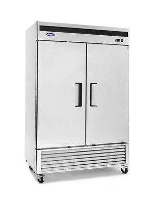 Atosa Stainless Steel Double Door Freezer (Bottom Mount)