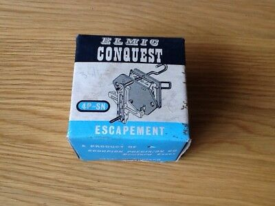 Vintage Clock Parts Elmic Conquest 4P-SN Escapement Boxed - New