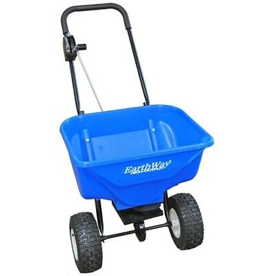 Earthway 2040PiPlus High Output Snow&Ice Melt Spreader with Solid Rod Linkage