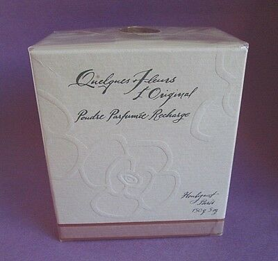 Quelques Fleurs by Houbigant Perfume Powder Refill 150 g 5 oz New in Sealed Box