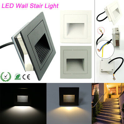 1/10/20pcs LED Wall light Recessed Downlight Spot Light Stage Stair Step Light
