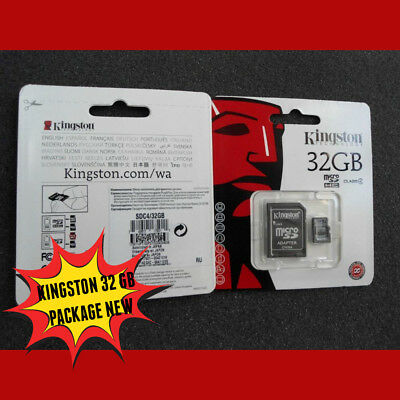 Tarjeta MicroSD MEMORIA KINGSTON  SDC10/32GB ios iphone camera universal offer