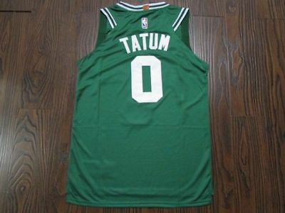 new product 9d712 274ab MEN'S BOSTON CELTICS Jayson Tatum #0 Black Jersey S-2XL ...