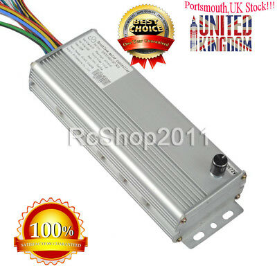 48V/72V 1500W Electric Bicycle Brushless Motor Controller for E-bike and Scooter