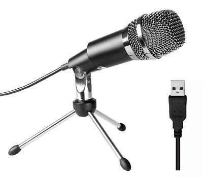 USB Microphone Fifine Plug & Play Condenser Microphone - K668 MIC STAND INCLUDED