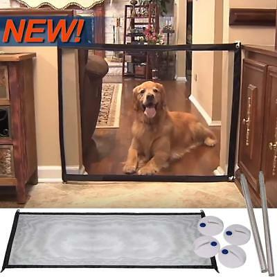 Magic Gate Dog Baby Folding Safe Guard Install Anywhere Pet Safety Enclosure