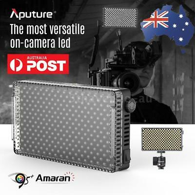 Aputure AL-F7 3200-9500K CRI/TLCI 95 LED Video Light Lamp Panel+Cold Shoe Mount