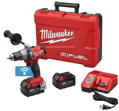 Milwaukee Hammer Drill Driver Combo Kit 1/2 in. 18-Volt Lithium-Ion Cordless