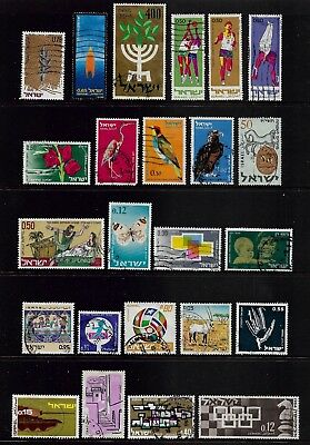 ISRAEL mixed collection No.15, used