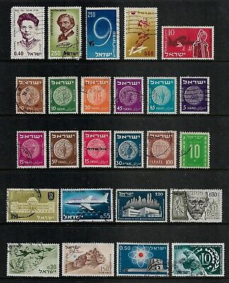 ISRAEL mixed collection No.16, used