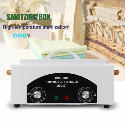 Heat Sterilizer Cabinet Autoclave Dentist Beauty Tools Medical Disinfect Machine