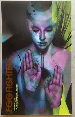 Foo Fighters Australien Sign Language Lim Edition  Poster