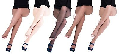 Sentelegri Toeless Sheer Summer Tights 15 Denier Various Colours Open Toe