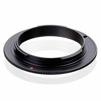 52mm Lens Mount Reverse Macro Adapter Ring  for OM 4/3 Olympus DSLR Camera