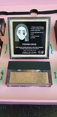 NEW Huda Beauty Easy Bake Loose Setting Powder POUND CAKE 100% Authentic