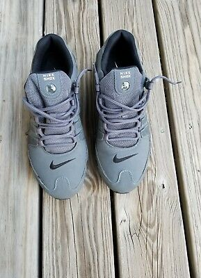 hot sale online e3c9a 74a41 Nike Shox NZ Mens Running shoes Dark Grey Anthracite 378341 059 Size 12