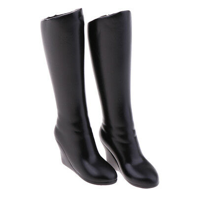 1/6 Mid-calf Knee Boots for 12'' Action Female Figure Phicen Kumik Hot Toy
