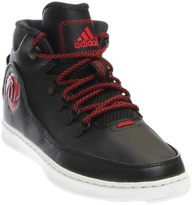 4a78f2cad874 ADIDAS MEN S DERRICK Rose Lakeshore Mid Shoes Black red B72809 -  71.28
