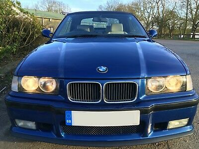 BMW M3 CONVERTIBLE Rare E36 1995 286bhp Great condition *INVESTMENT OPPORTUNITY*