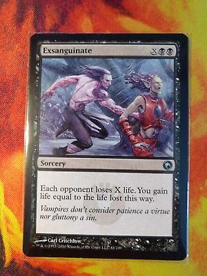 Exsanguinate ~ Scars of Mirrodin ~ NearMint/Excellent+ ~ Magic The Gathering