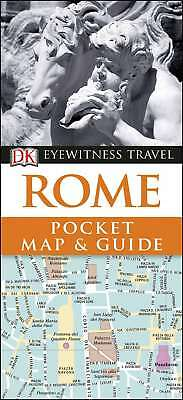 Rome Pocket Map and Guide (DK Eyewitness Travel Guide), DK Travel, New Book