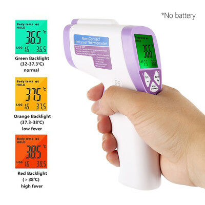 Non-Contact Forehead Infrared Medical Digital Thermometer for Baby Adult Kids UK