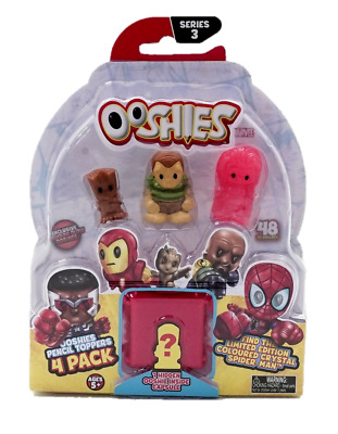 Ooshies Marvel Figures Pencil Toppers 4 Pack - Series 3 Set 3