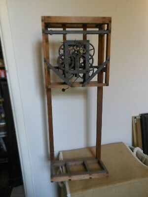 Old American Clock Stand