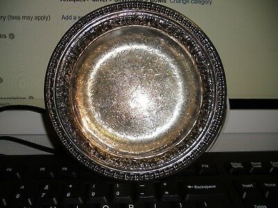 BEAUTIFUL Vintage Reed & Barton Silver Plated Bowl #1301 Candy Dish