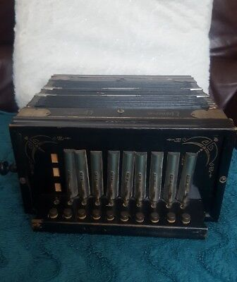 Vintage Universe Accordion, working Prop or Display 1920s-30s German RARE