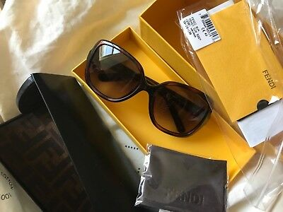 8c0d919958 NWT FENDI SUNGLASSES FS 5227 Brown Made in Italy -  80.00