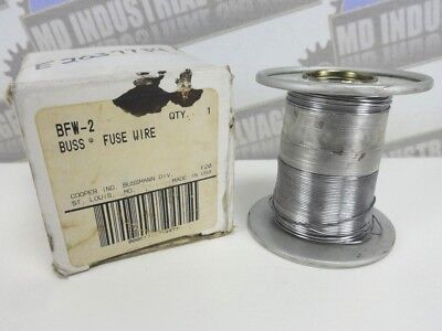 BUSS BFW-2 FUSE WIRE 1/2 LB Spool * (NEW in BOX)