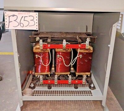 Hammond Nmk030Kb 30Kva 480D/208Y/120 3Ph 60Hz Taps Nema 3R Transformers