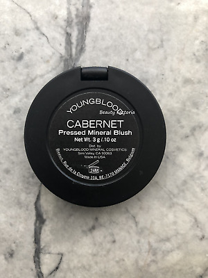 YoungBlood Pressed Mineral Blush Cabernet 0.10oz