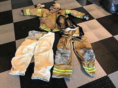 Firefighter jacket /pants and more  Turnout gear set//check out pics