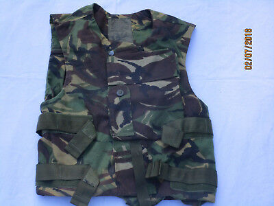 Cover Body Armour is Woodland DPM, Splinter Protection Vest Cover, Size 180/104
