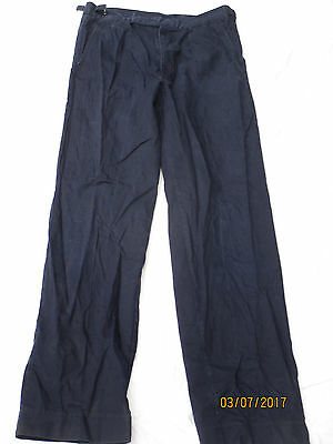 Trousers Men's Working Dress,Royal Navy,Navy Work Trousers,Size 80/84/100 ,#RN41